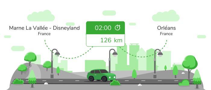 Informations pratiques pour vos covoiturages entre Marne la Vallée - Disneyland et Orléans