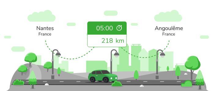 Informations pratiques pour vos covoiturages entre Nantes et Angoulême