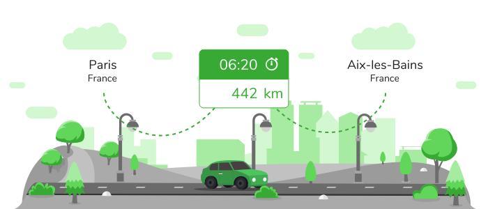 Informations pratiques pour vos covoiturages entre Paris et Aix-les-Bains