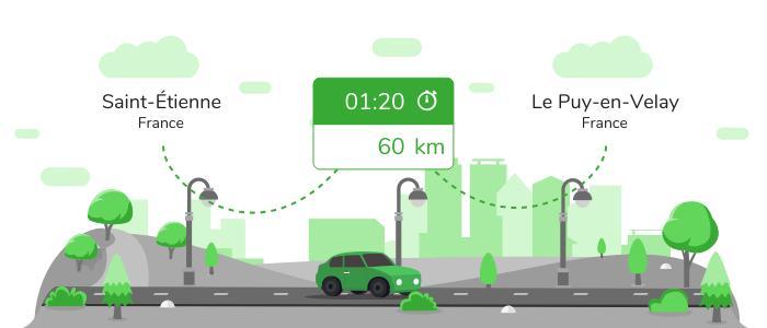 Informations pratiques pour vos covoiturages entre Saint-Étienne et Le Puy-en-Velay