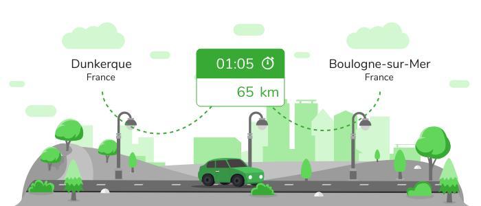 Informations pratiques pour vos covoiturages entre Dunkerque et Boulogne-sur-Mer